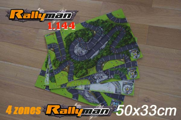 Lot Zones Rallyman 144